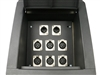 Elite Core Recessed Metal Stage Pro Audio Floor Box