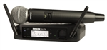 Shure GLXD24/SM58 Digital Wireless Mic System with SM58 Handheld Microphone