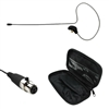OSP HS-09 Black EarSet Headworn Microphone For Shure  bodypack Wireless Systems