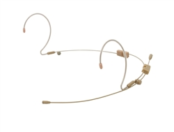 OSP HS-12 Tan EarSet Headworn Microphone For AKG Systems