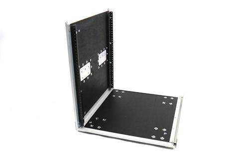 OSP 12 Space ATA-style Amp 12U Effects Studio Rack Case w//Caster Wheels