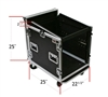 OSP 10 Space Mixer/Amp Rack ATA Flight Road Case