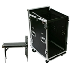 OSP 16 Space Mixer/Amp Rack ATA Flight Road Case