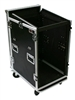OSP 20 Space Mixer/Amp Rack ATA Flight Road Case
