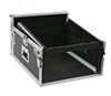 OSP 4 Space Mixer/Amp Rack ATA Flight Road Case
