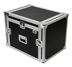 osp 8 space mixer/amp rack ata flight road case
