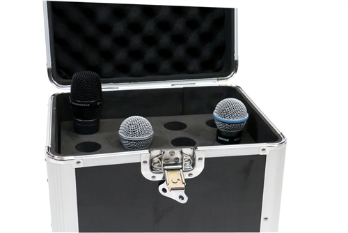 Microphone Transport Case Road Case MIC-CASE12 12 Mic Capacity OSP Cases
