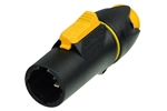 Neutrik PowerCon TRUE1 NAC3MX-W Locking Male Power Cable Connector Rated IP65