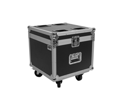 OSP Universal Utility ATA Flight Road Case with Caster Wheels for 4 LED PAR CANS PAR-CASE-4