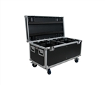 OSP ATA Tour Flight DJ  Utility Road Case for 8 LED PAR CANS PAR-CASE-8