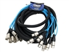 elite core 8 Channel 30' fan to fan xlr extension snake