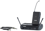 shure pgx14 wireless system for guitar or bass