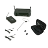 shure pgx14 mic wireless system w/osp hs-09 black earset microphone