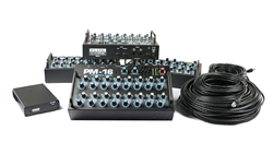 Elite Core PM-16 Complete Personal Mixer 4 User Pack w/IM-16A Digital Input Module