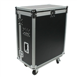 osp ata flight road case with doghouse for the presonus 24.4.2 studio live mixer