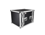 "10 Space 20"" Deep ATA Amp Rack Flight Road Case"