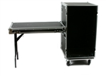 "OSP 20 Space 20"" Deep Rack Road ATA Flight Case w/ Lid Table"