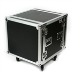 osp 10 space ata amp shock mount flight road case