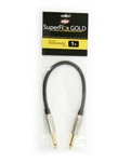 OSP SuperFlex GOLD Premium Instrument Cable 1 FT