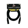 SuperFlex GOLD Premium Microphone Cable 15 FT