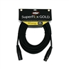 SuperFlex GOLD Premium Microphone Cable 25  FT