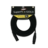 OSP SuperFlex GOLD Premium Microphone Cable 30 FT