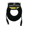 SuperFlex GOLD Premium Microphone Cable 50 FT