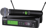 shure slx24/beta58 wireless handheld mic system