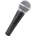 Shure SM58-S Cardioid Dynamic Vocal Microphone with Off/ON Switch