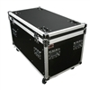 "osp 45"" TC4524-30 ata utility trunk flight road case with dividers and tray"