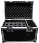 ProX ATA Flight Road Microphone Case Holds 20 Mics & Storage
