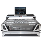 ProX ATA Road Case FOR Pioneer DDJSX3 DDJ1000 Controller & Lower 2U Space & Laptop Shelf XS-SX1K2UWLT LED