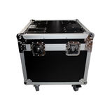 ProX XS-UTL9W Utility Stackable ATA Flight Road Case w/Wheels - DJ Stage Case
