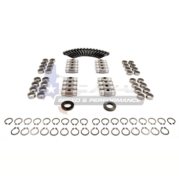 "Texas Speed & Performance .750"" Dual Valve Spring Kit Featuring PAC 1209X Valve Springs w/ TITANIUM Retainers"
