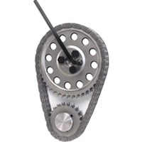 Cloyes LS1/LS2-1x/LS6 Hex-A-Just True Roller Single Roller Timing Set, Includes Extreme Duty C5R Chain, 3-Bolt Cam