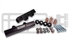 IAG SIDE FEED TO TOP FEED FUEL RAIL CONVERSION KIT FOR 2004-06 SUBARU STI, 05-07 LGT, 04-05 FXT (BLACK FINISH)