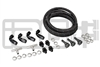 IAG BRAIDED FUEL LINE & FITTING KIT FOR IAG TOP FEED FUEL RAILS & OEM FPR