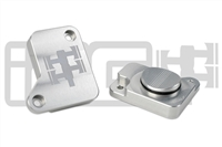 IAG MAF SENSOR BLOCK OFF PLATE FOR 2008-14 SUBARU WRX, 2008-17 STI, 2005-09 LGT (SILVER FINISH)