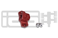 IAG MAP SENSOR ADAPTER FOR 2002-07 SUBARU WRX, 04-17 STI, 04-08 FXT (RED FINISH)