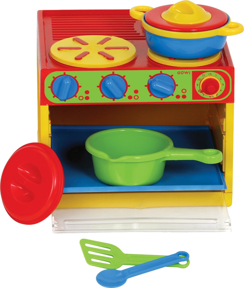 gowi toys 7 pc. kitchen set
