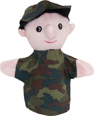Get Ready Kids soldier puppet