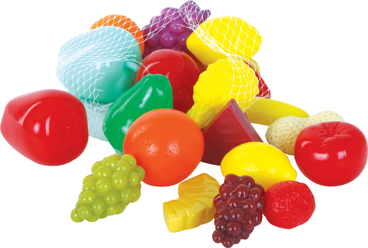 Play Food Toys : Gowi toys pc fruit and cheese play food