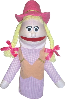 Puppet Partners cowgirl puppet