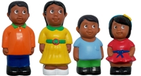 Get Ready Kids 5 inch Hispanic family figures