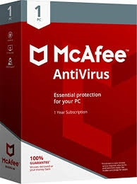 McAfee Anti-Virus Plus - Protect 3 PC's for 1 Year