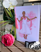 Breast Cancer Awareness Greeting Cards - Set of 6 - African American