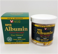 New & Improved Super Albumin 1500 mg 200 softgels
