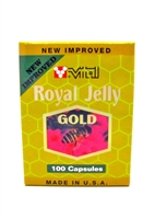 New Improved Royal Jelly Gold 2000 mg 100 Softgels