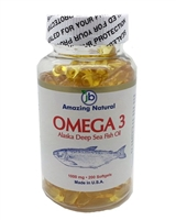 Amazing Natural Omega 3 Deep Sea Fish Oil (200)