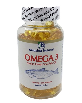 Amazing natural omega 3 deep sea fish oil 200 for Can fish oil cause constipation
